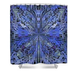 Can You Hear Me Now Shower Curtain by Tim Allen