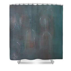Can You Hear The News Of Tomorrow? Shower Curtain