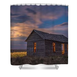 Shower Curtain featuring the photograph Can You Leave The Light On by Darren White
