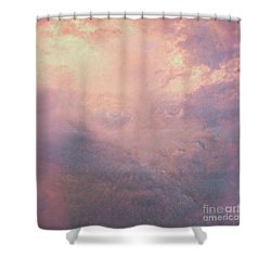 Can You See Him? Shower Curtain