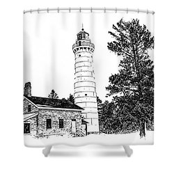 Cana Seldom Seen Shower Curtain