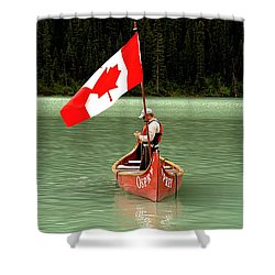 Canada Day... Shower Curtain