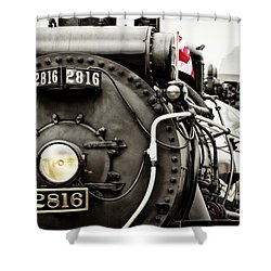 Canada Day Shower Curtain by Brad Allen Fine Art