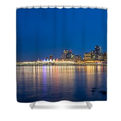 Canada Place Vancouver Shower Curtain