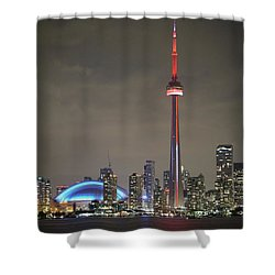 Canadian Landmark Shower Curtain