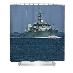 Canadian Navy's Kingston Shower Curtain
