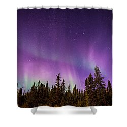 Canadian Northern Lights Shower Curtain by Serge Skiba