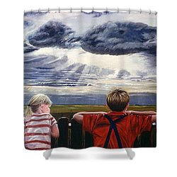 Canadian Prairies Shower Curtain