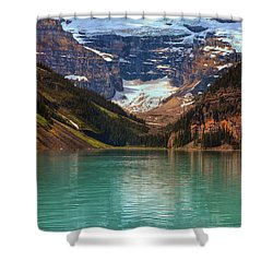 Canadian Rockies In Alberta, Canada Shower Curtain