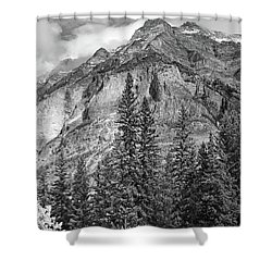 Canadian Rockies No. 2-2 Shower Curtain