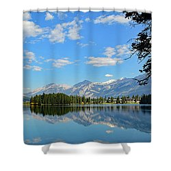 Canadian Rockies No. 4-1 Shower Curtain