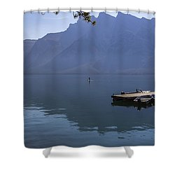 Canadian Serenity Shower Curtain by Angela A Stanton