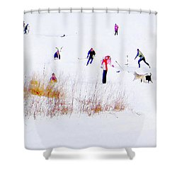 Shower Curtain featuring the photograph Canadiana by John Poon
