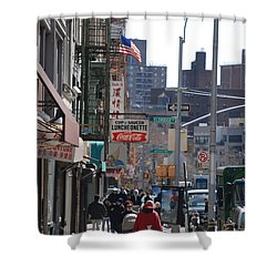 Canal And Eldridge Shower Curtain by Rob Hans