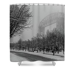 Canal Park Shower Curtain