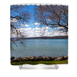 Canandaigua Shower Curtain by William Norton