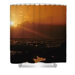 Canary Islands Sunset Shower Curtain
