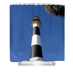 Canaveral Light Shower Curtain by Allan  Hughes