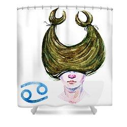 Cancer Shower Curtain