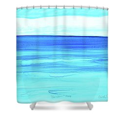 Cancun Mexico Shower Curtain by Dick Sauer