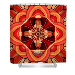 Candle Inspired #1173-4 Shower Curtain by Barbara Tristan