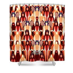Candle Inspired #1173-8 Shower Curtain by Barbara Tristan