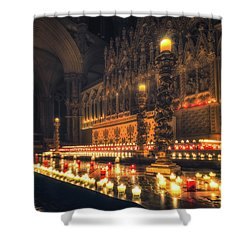 Candlemas - Altar Shower Curtain