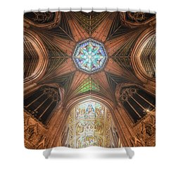 Candlemas - Octagon Shower Curtain