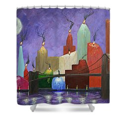 Candleopolis Shower Curtain