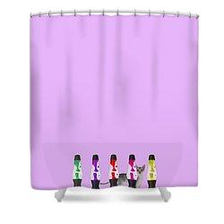 Candy Balls Shower Curtain