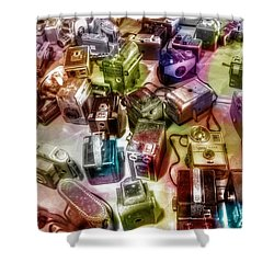 Candy Camera Shower Curtain