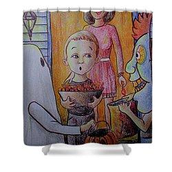 Candy Duty Dan Shower Curtain