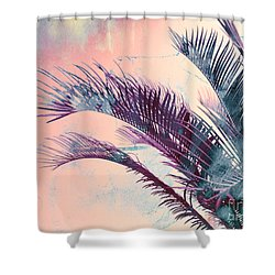 Candy Palms Shower Curtain