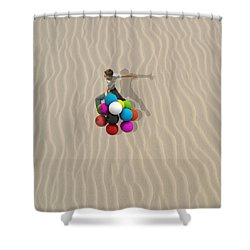 Candy Sand Shower Curtain