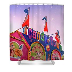 Shower Curtain featuring the photograph Candytown by Cindy Garber Iverson