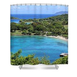 Caneel Bay St. John Shower Curtain