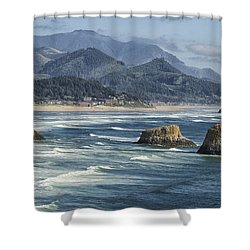 Cannon Beach 0192 Shower Curtain