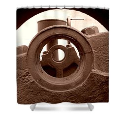 Cannon Parts Shower Curtain