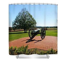 Canon At Antietam Shower Curtain