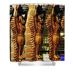 Canton Chief Shower Curtain