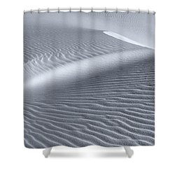 Canvas Of The Winds Shower Curtain by Sandra Bronstein
