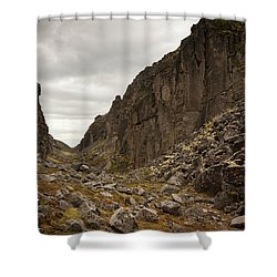 Canyon Aku Aku Shower Curtain by Konstantin Dikovsky
