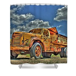 Canyon Concrete 3 Shower Curtain