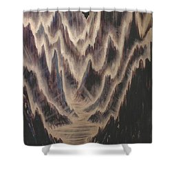Canyon Of Light Shower Curtain
