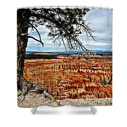 Canyon Overlook Shower Curtain by Christopher Holmes