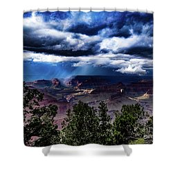 Canyon Rains Shower Curtain