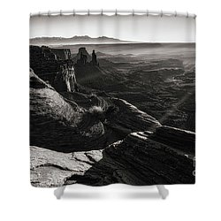 Canyon Sunbeams Shower Curtain