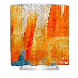 Canyon Shower Curtain by William Wyckoff