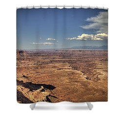 Canyonlands Colorado River Shower Curtain