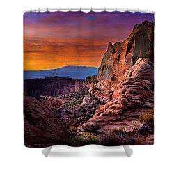 Canyonlands Sunrise Shower Curtain